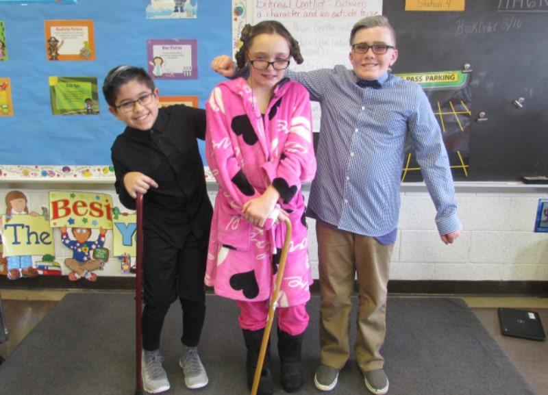 100th day-fifth grade