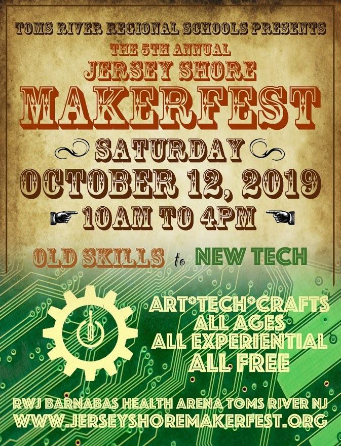 Makerfest 5.0 flyer