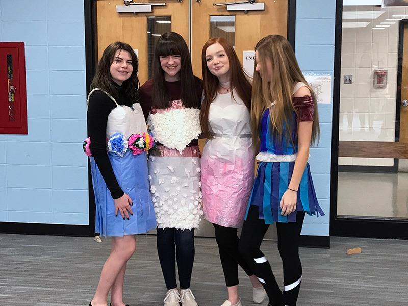 HSE Paper Dress