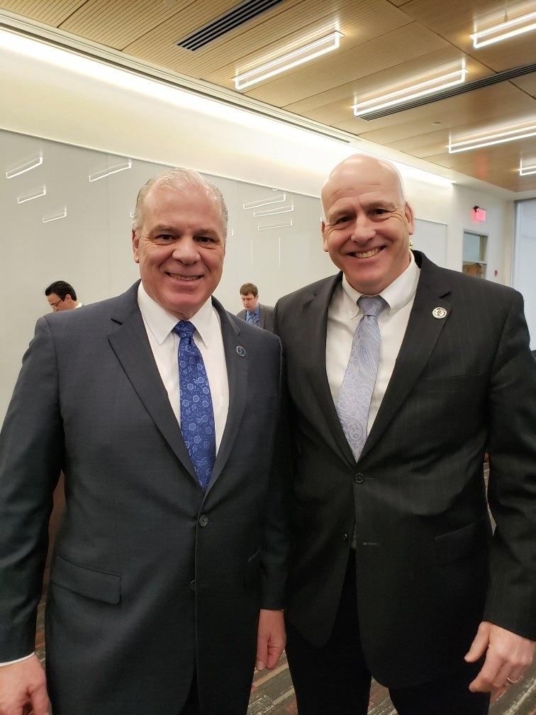 Dave and Senator Sweeney