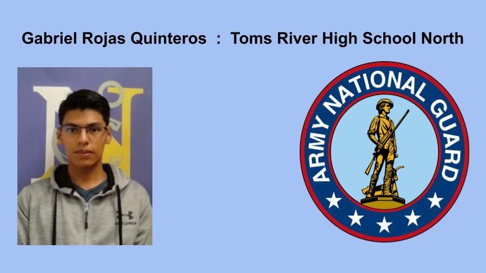 Gabriel Rojas Quinteros Toms River High School North