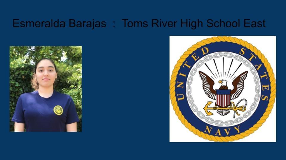 Esmeralda Barajas Toms River High School East