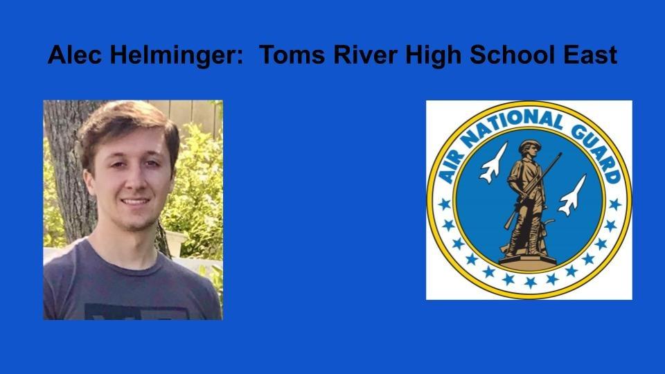 Alec Helminger  Toms River High School East