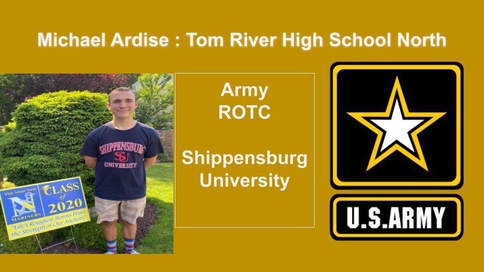 Michael Ardise Tom River High School North