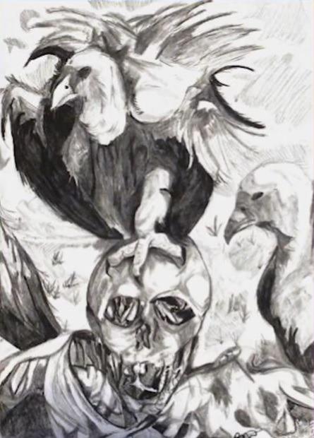 HSS scary art