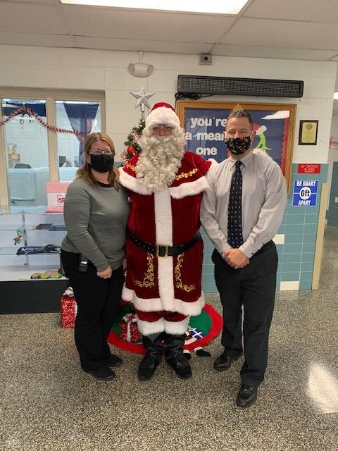 Santa at WD2