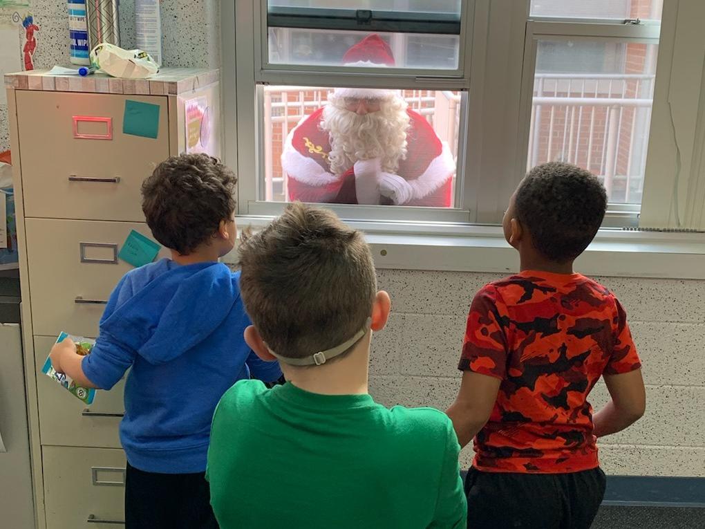 Santa at WD1