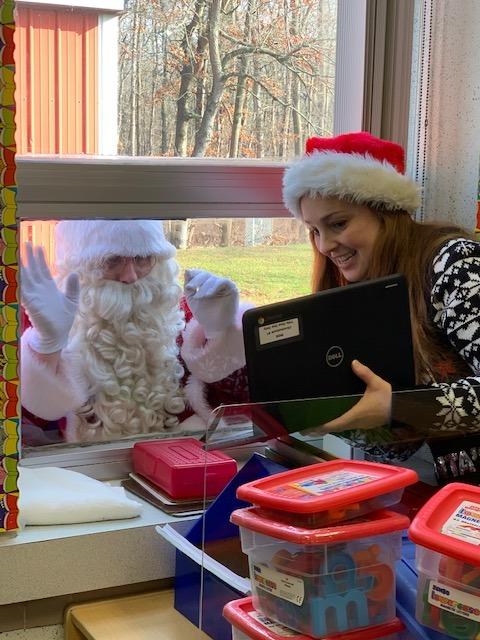 Santa at WD3