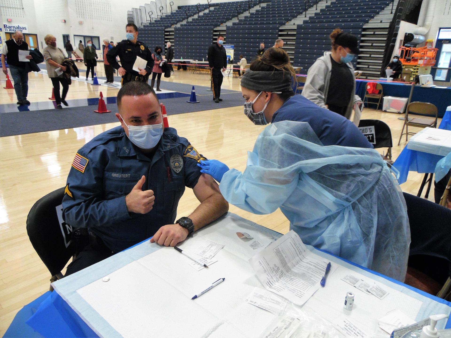 police vaccine