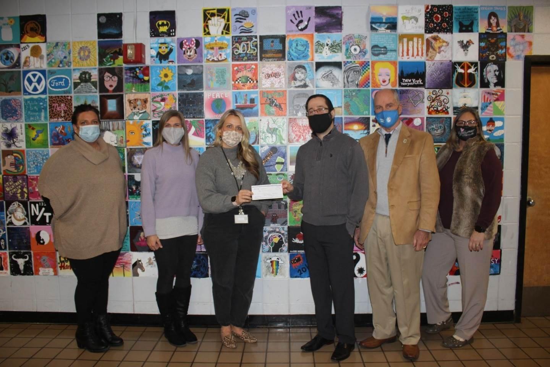 TREF Arts donation HSE