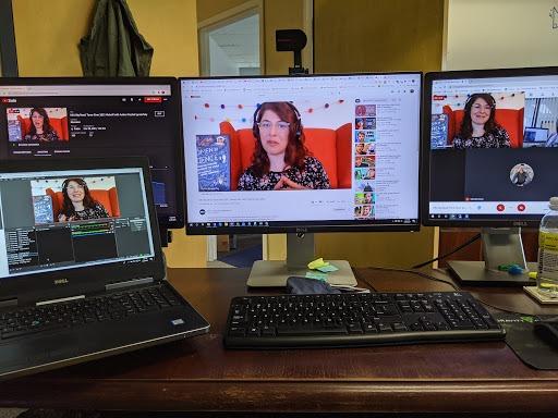 Rachel on screen