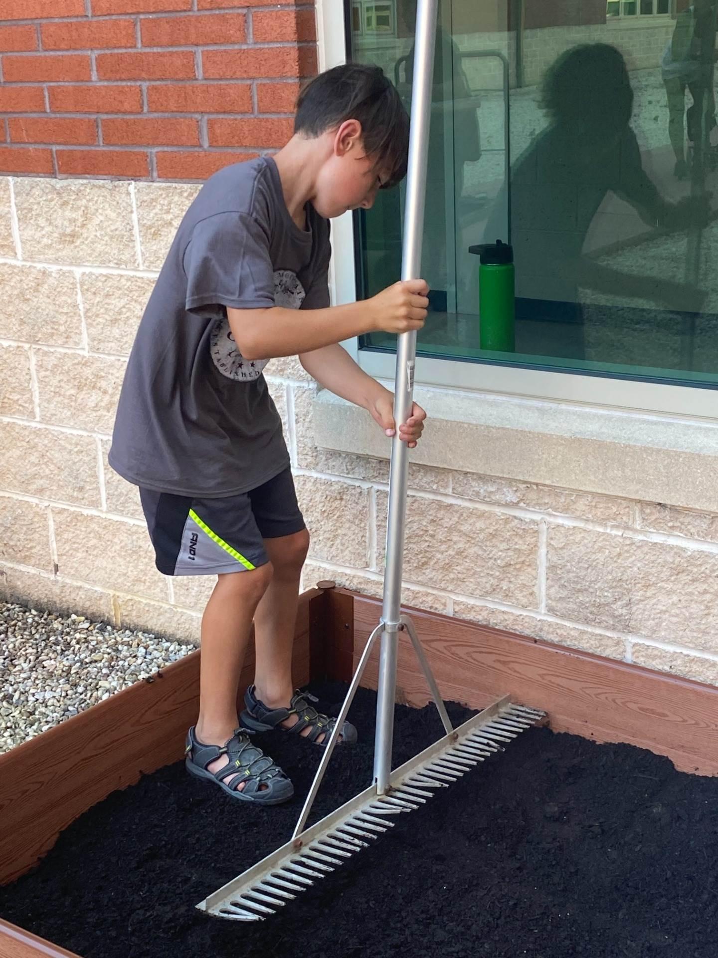 scout raking