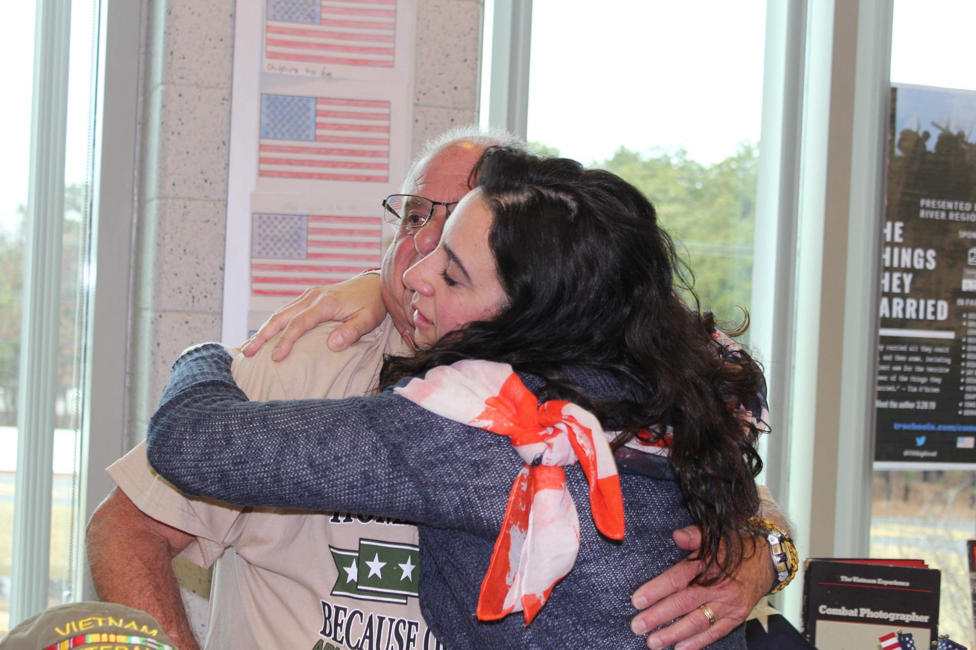 Shapiro hug