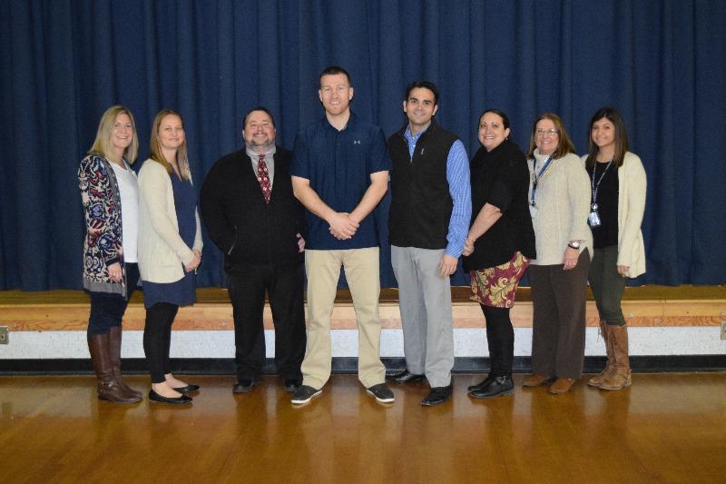 Frazier and fifth grade teachers