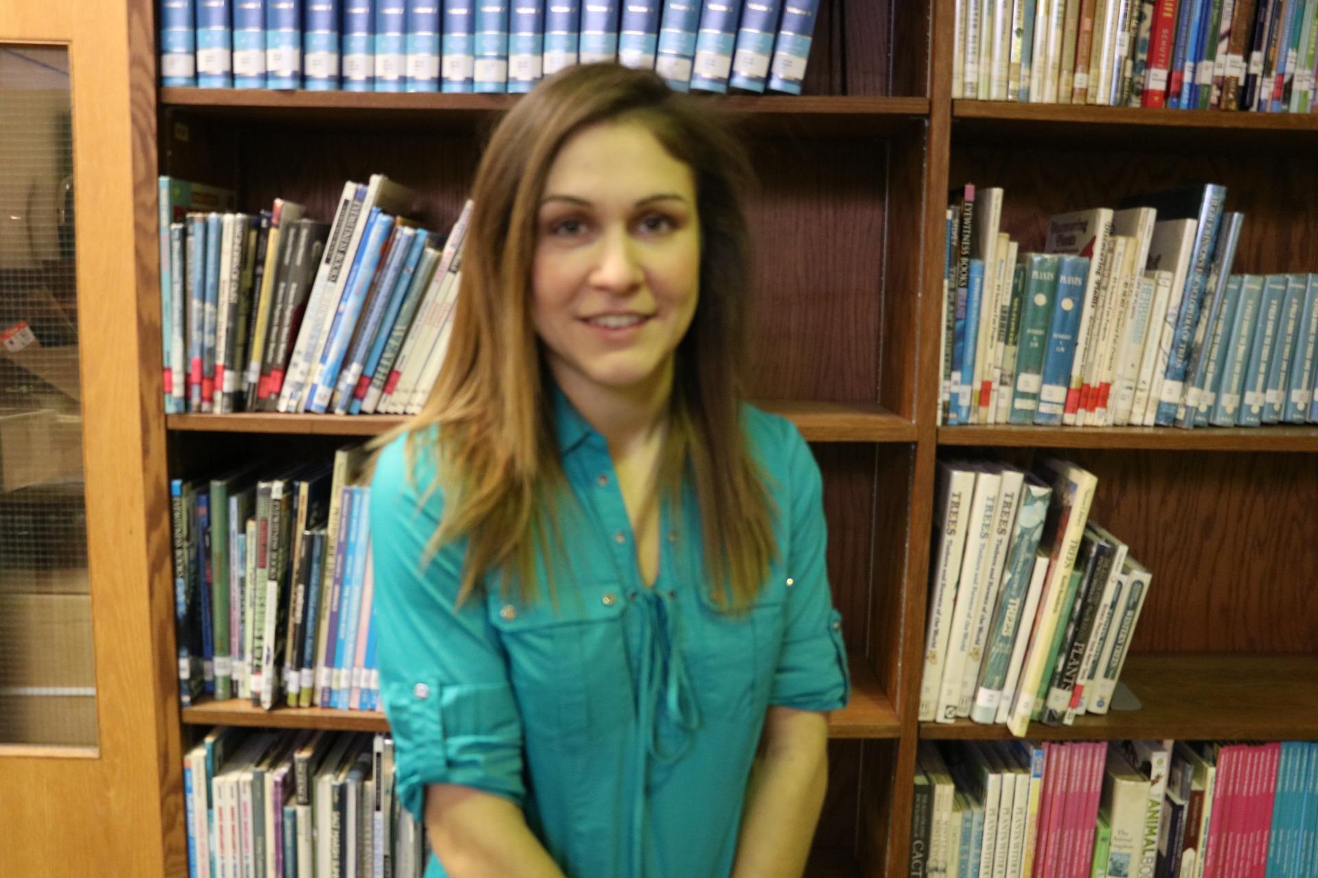 Teacher of the Year Paula Stauhs