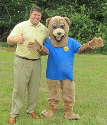 Mr. Gray and Bear