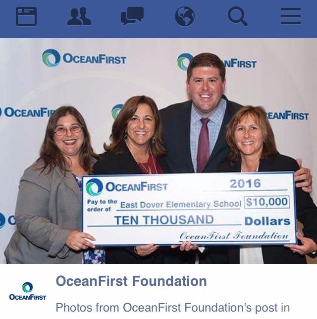 Ocean First Grant