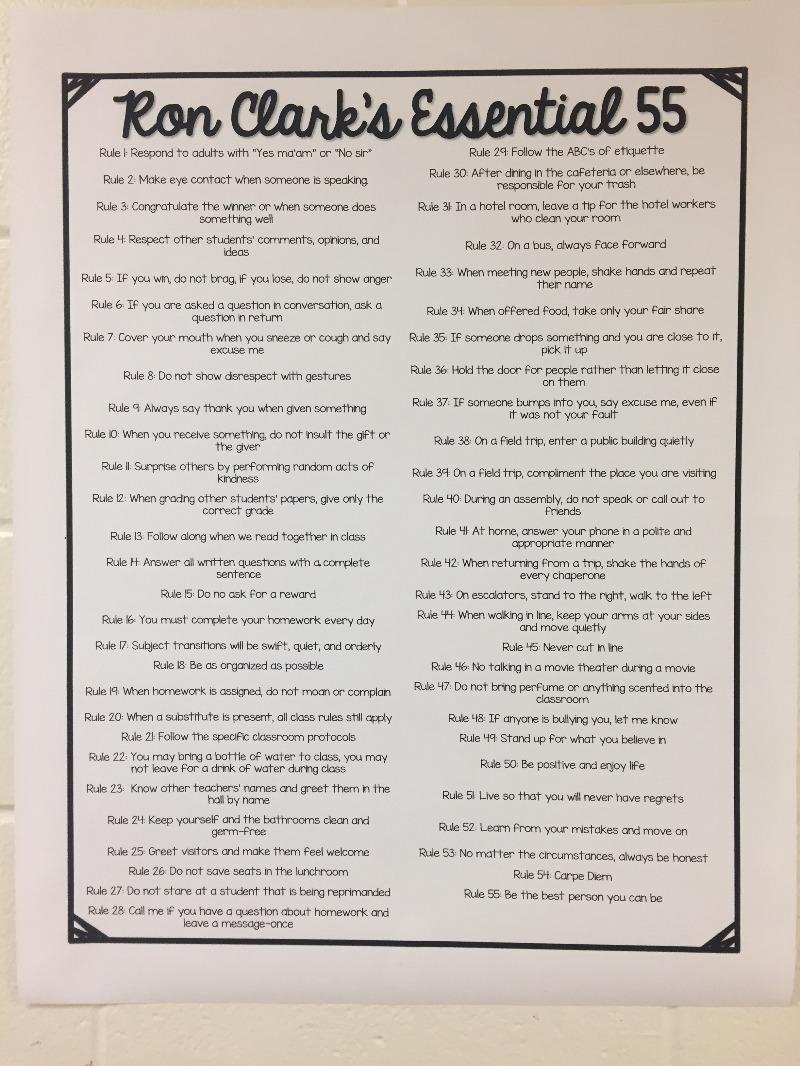 55 Rules
