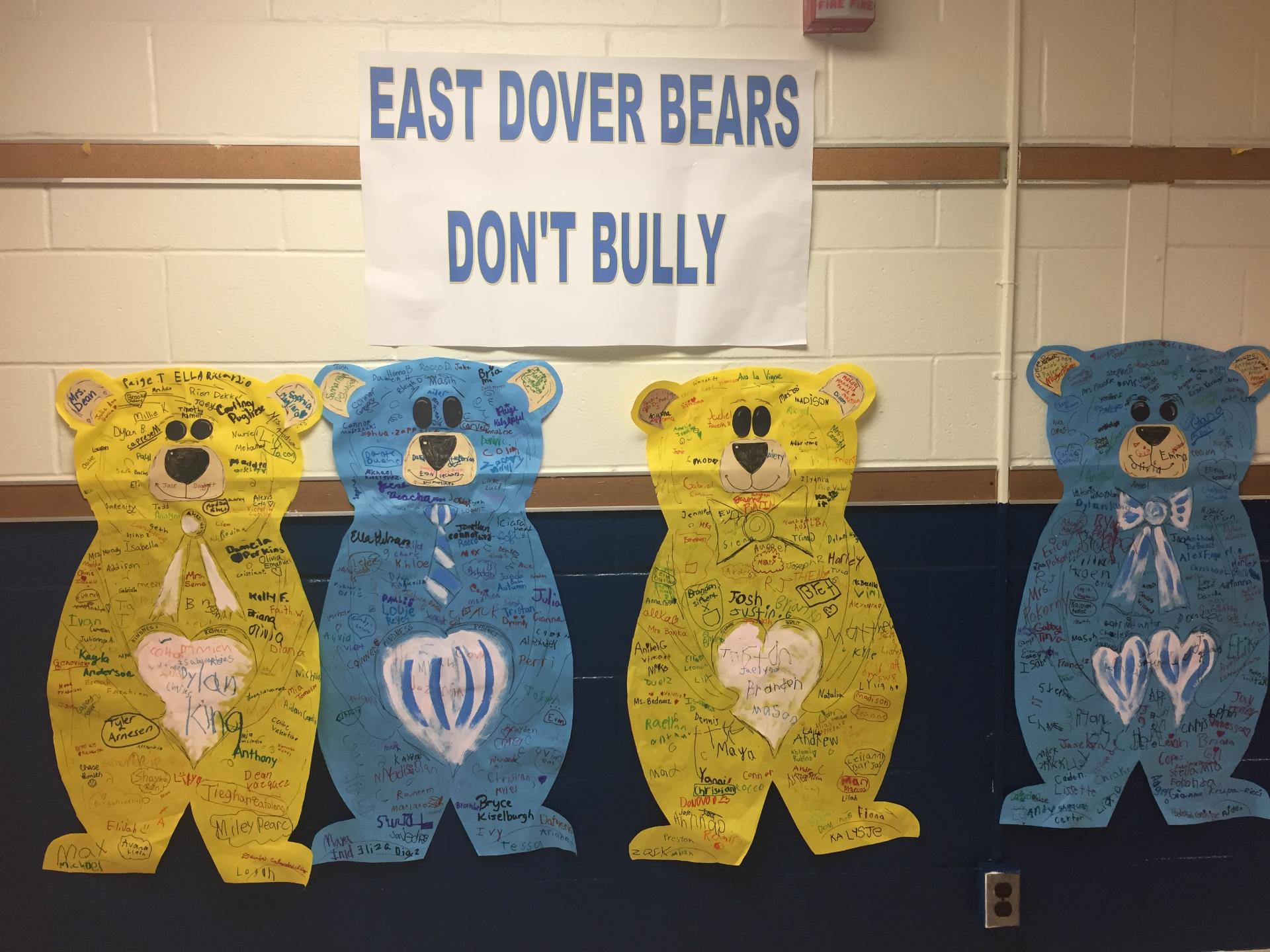 Bears Don't Bully