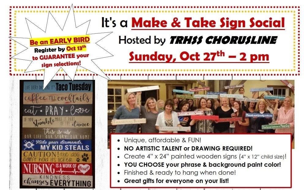 Chorus Fundraiser Event