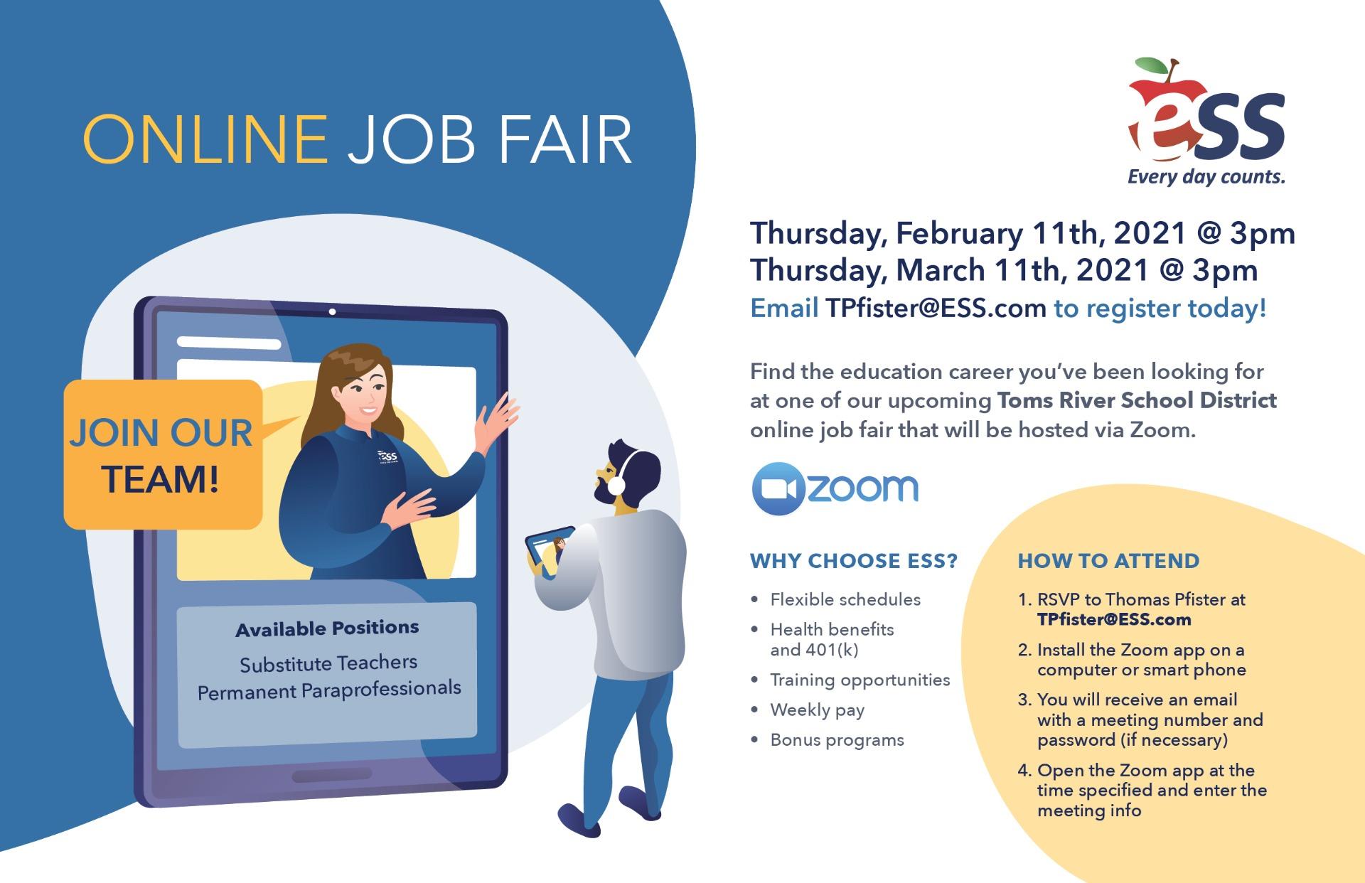 ESS Online Job Fair