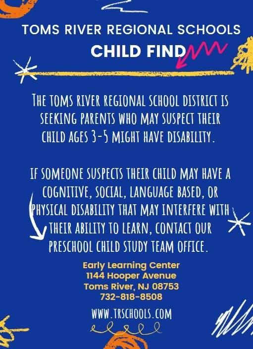 TRRS Child Find