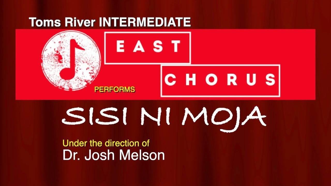 Toms River Intermediate East Chorus performing Sisi Ni Moja