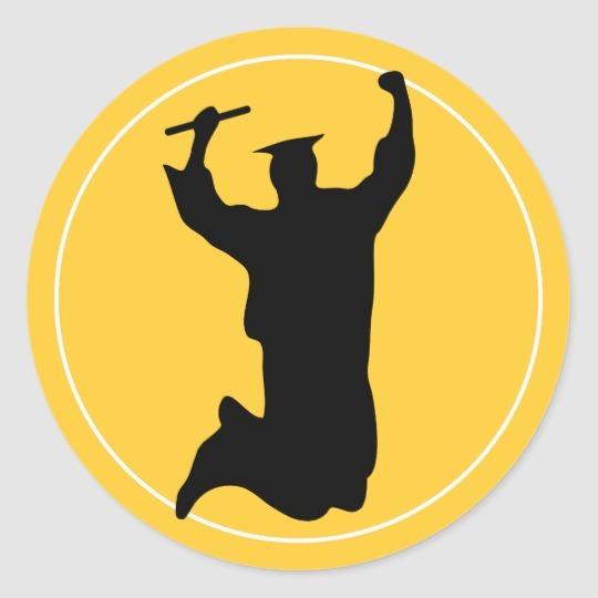 jumping graduate