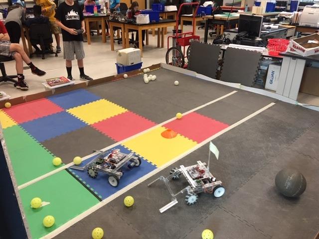 robots battling