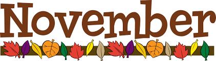 November Elementary Lunch