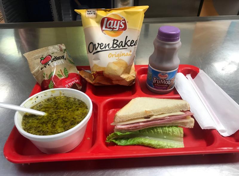 December Elementary Lunch Menu