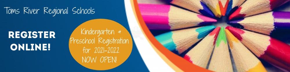 kindergarten and preschool registration is now open