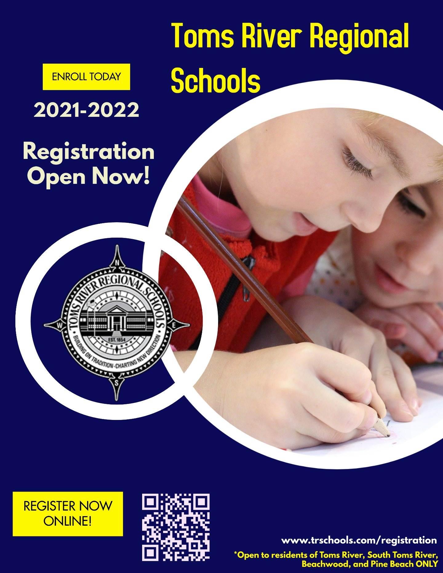 toms river regional schools enroll today 2021 2022 registration open now