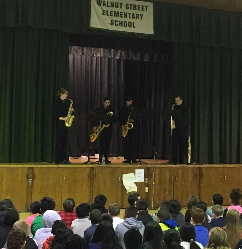 HSN Saxaphone Quartet