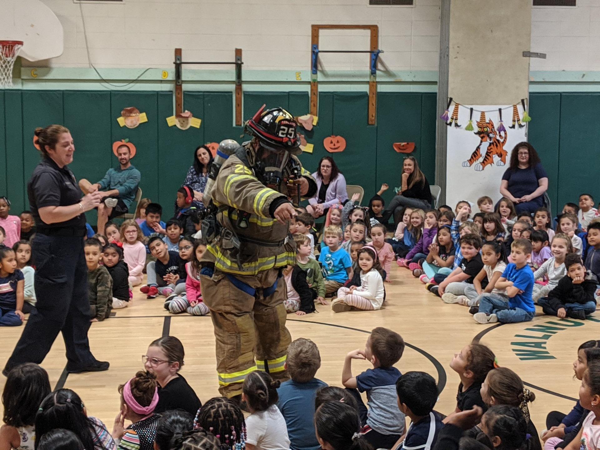 Uniformed Fireman