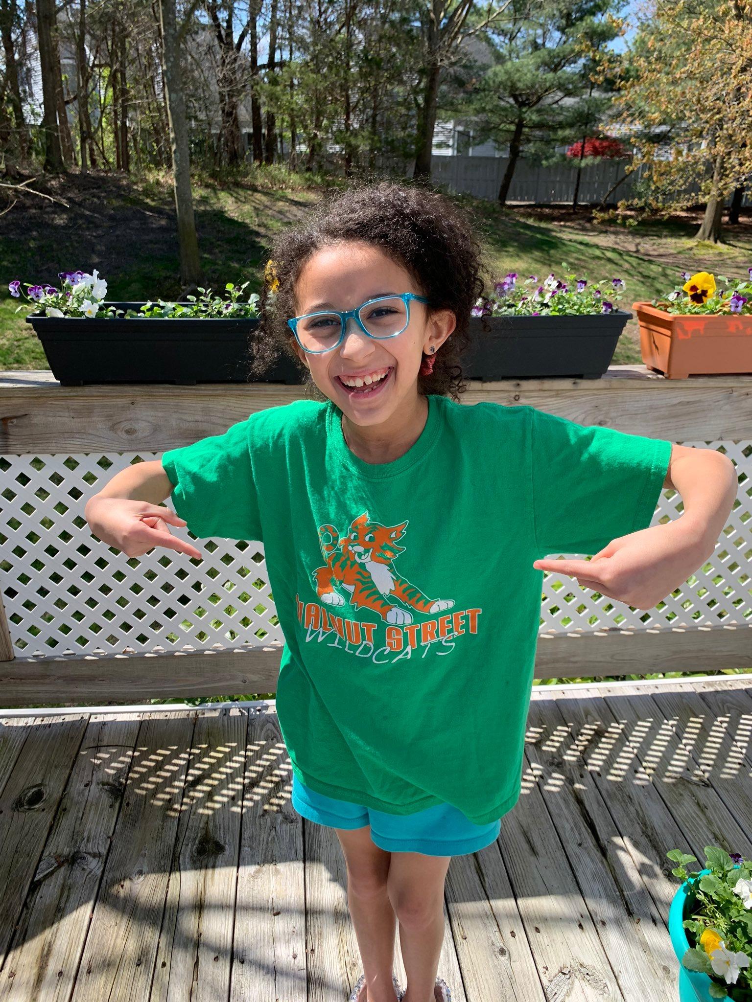 Kid in Green Shirt
