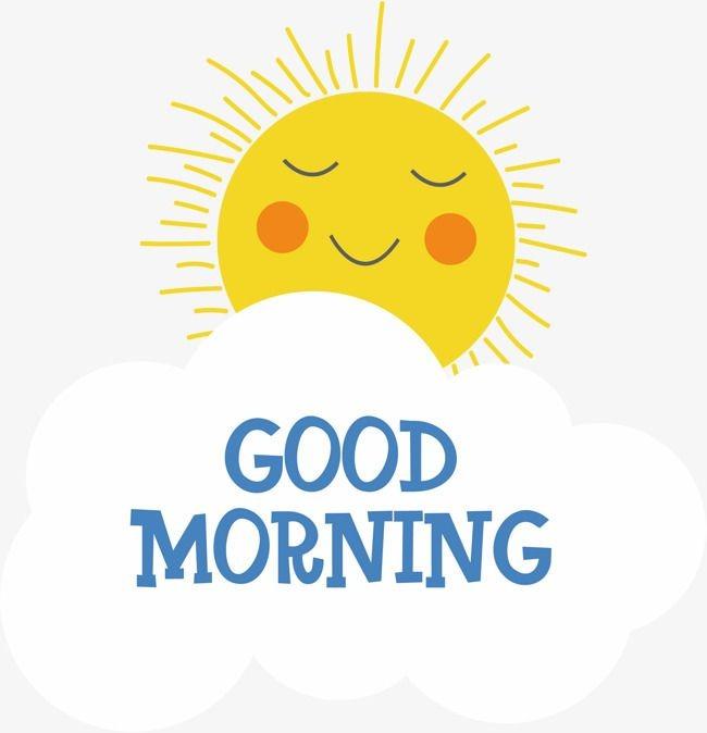 morning sun clipart