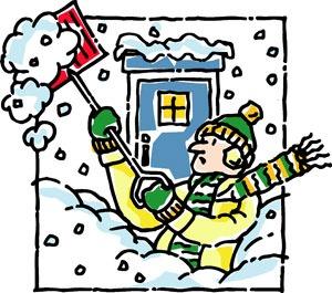 Snow Shovel Clpart