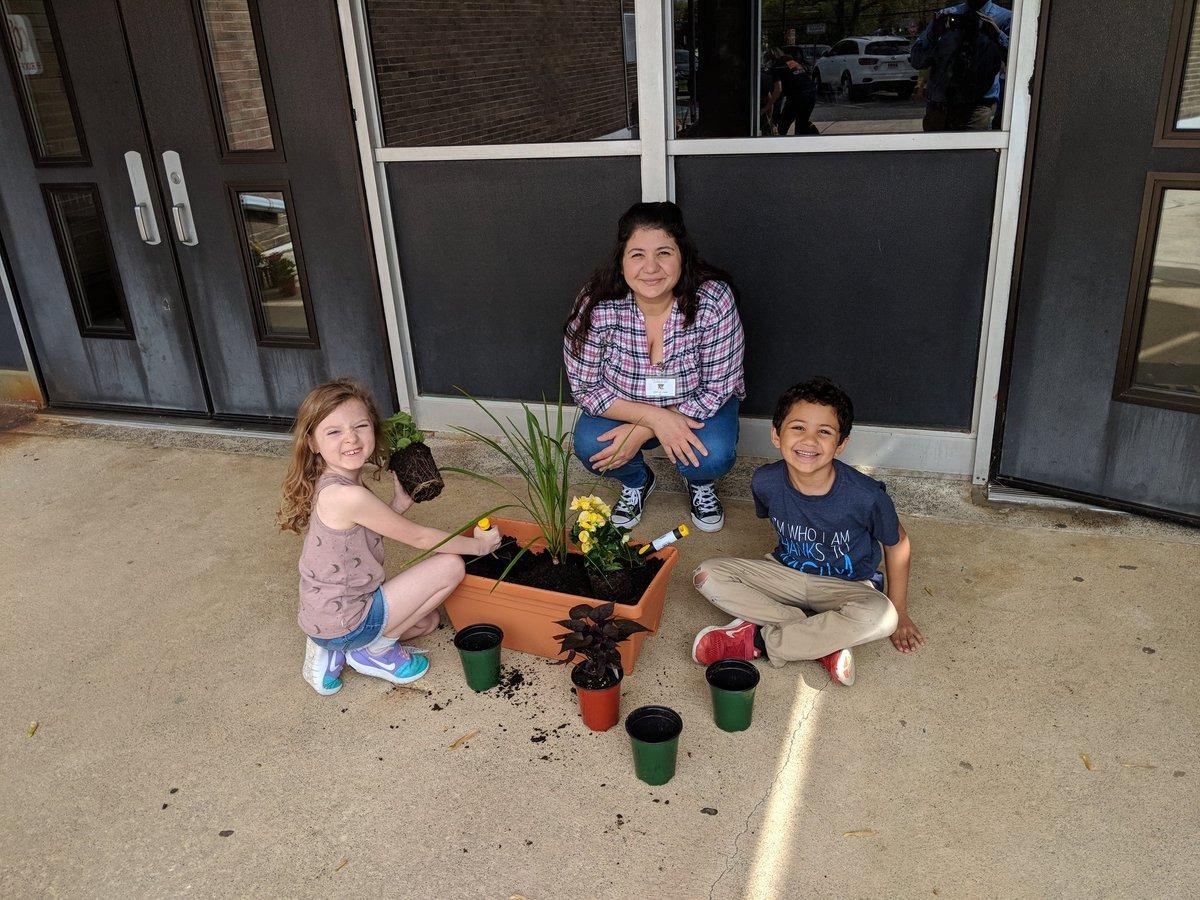 Kids and Plants
